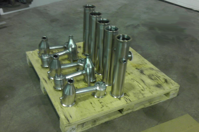 Custom Fabricated Metal Tubes for Gas System